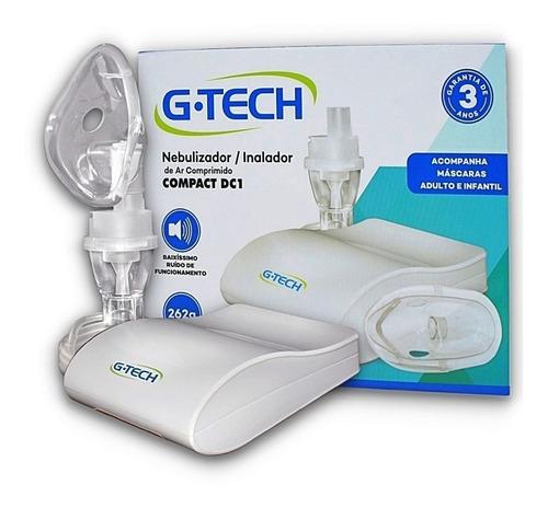 Inalador E Nebulizador G-tech Compact Dc1 Adulto E Infantil