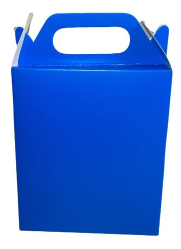 50 Mini Sacola Caixa De Papel Para Lembrancinha 16x4x10,5