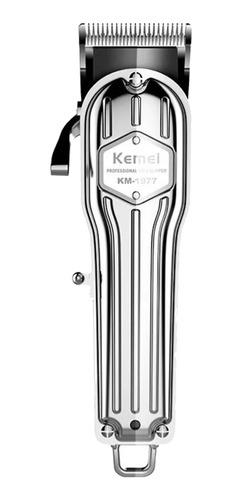 Máquina De Corte Kemei Km-1977  Prata 100v/240v