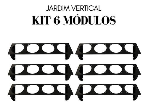 Jardim Vertical - Green Up - Kit 6 Módulos