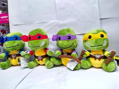 Tortugas Ninjas Peluches 19x12cm Bunny Toys