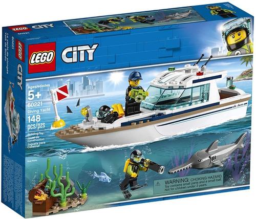 Lego City 60221 Yate De Buceo 148 Pzs