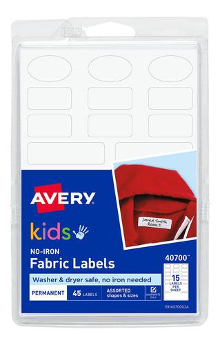 Avery Etiquetas Para Marcar Ropa - Sin Plancha - 40700