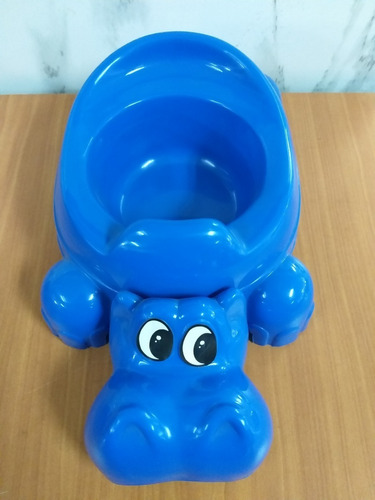 Bacinilla Infantil Hipopotamo O Pegatina