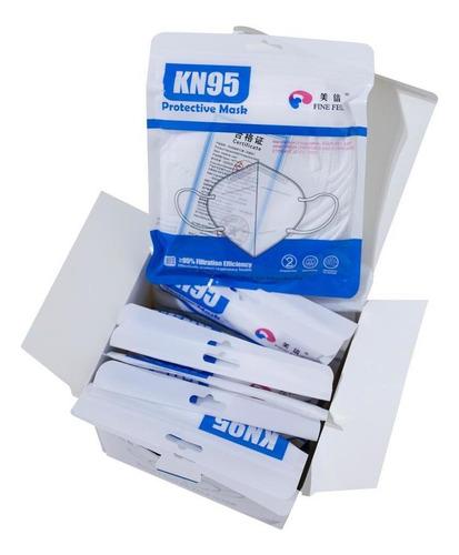 Kit 50 Máscaras De Proteção Reutilizavel N95 Pff2 Envio 24h