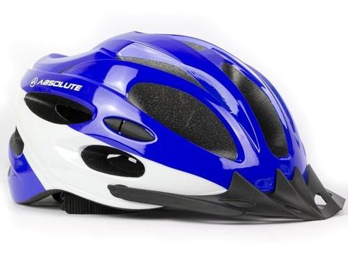 Capacete Ciclismo Bike Absolute Nero Led Preto Fosco  Oferta
