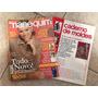 Revista Manequim 496 Roupas Tecidos Couro Saias I576
