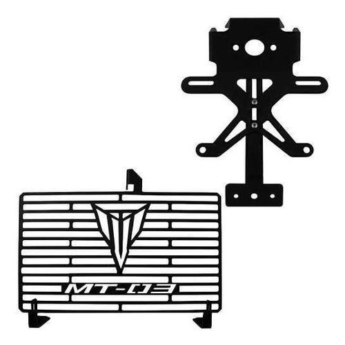 Protetor Radiador Eliminador Rabeta Mt03 Mt 03 2015 A 2020