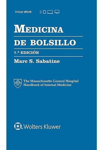 Sabatine Medicina De Bolsillo 7 Ed Nuevo!