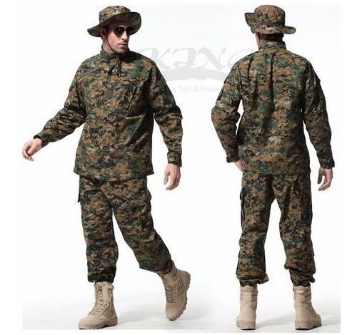 Farda Militar - Digital Marpat - Poliamida - (xxl) + Brinde