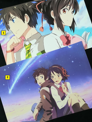 Posters A3 29x42cm Kimi No Na Wa / Your Name - Niponmania