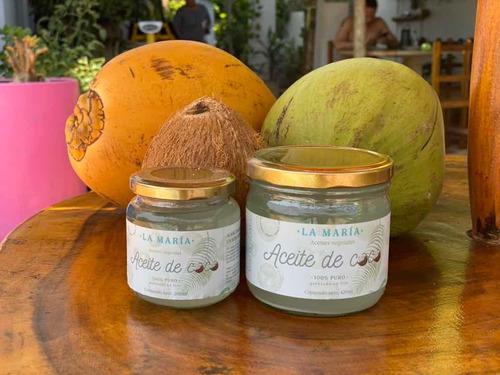 Aceite De Coco 100% Natural - L a $95