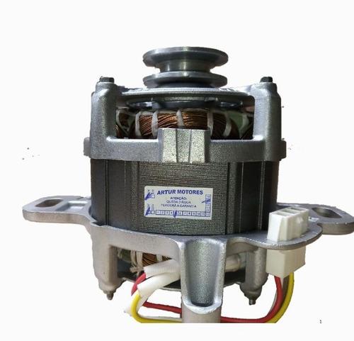 Motor Elétrico Lavadora Electrolux 220v (polia Em V)