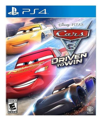 Cars 3: Driven To Win Warner Bros. Ps4 Físico