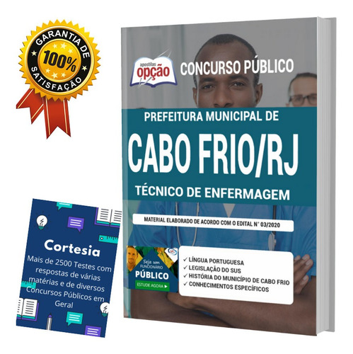 Apostila Concurso Cabo Frio Rj Técnico De Enfermagem