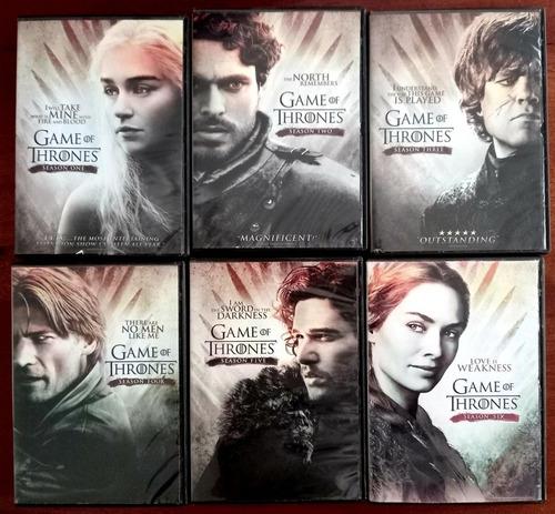 Game Of Thrones Dvd, 6 Temporadas Completas