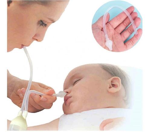 Aspirador Nasal Bebe Infantil Sugador Catarro E Meleca 1 Und
