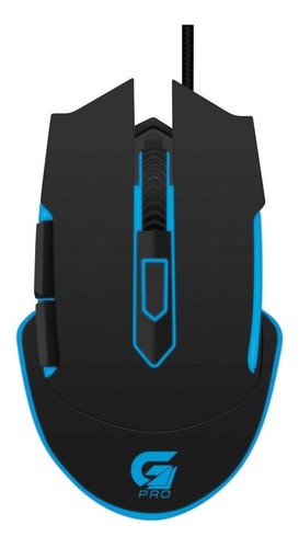 Mouse Para Jogo Fortrek Pro M5 Gamer Preto