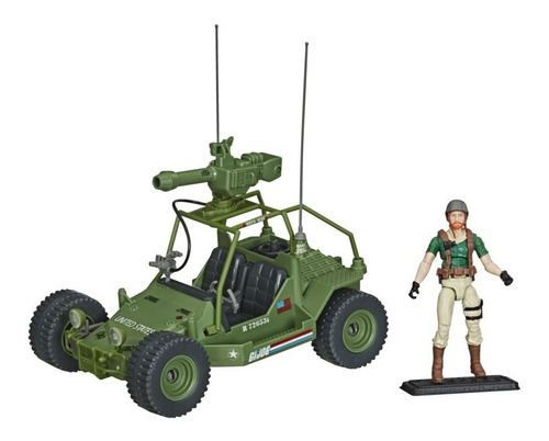 Figura Gi Joe Retro Veículo Awe Striker - Hasbro F0136