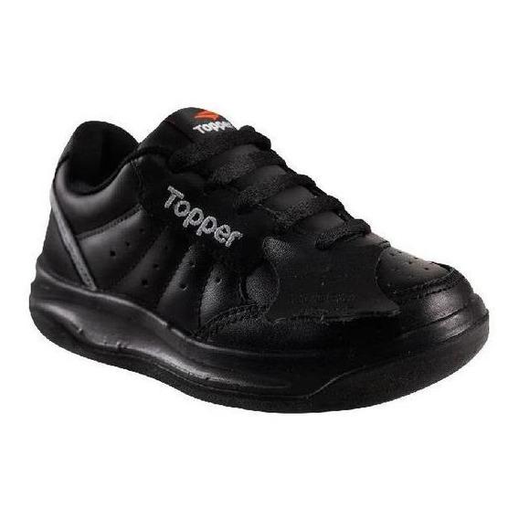 Zapatillas Topper Niño X-forcer Negra Tenis