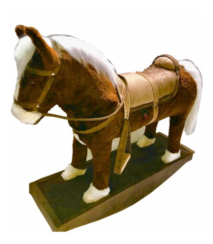 Cavalo Cavalinho Balanço Cowboy Fazendinha  Premium Luxo