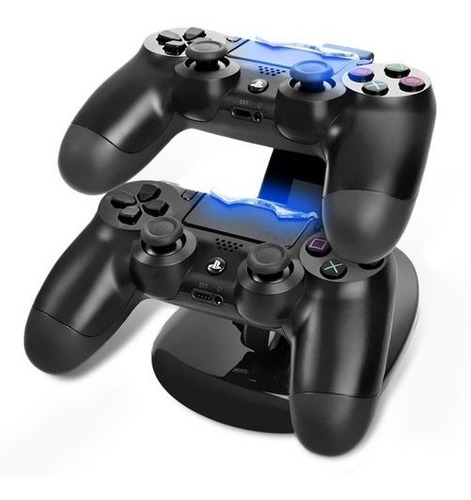 Suporte Carregador Ps4 Controle Dualshock Joystick Duplo