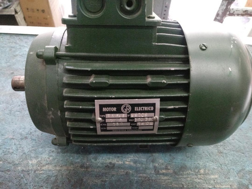 Motor Trifasico Blindado 1/6 Hp  700 Rpm  Gr Con Brida B14