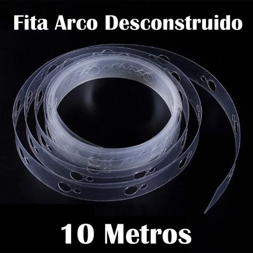 Fita Para Arco Desconstruído De Balão Bexiga 10 Metros