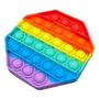 Brinquedo Popit Octagono Pop It Autismo Antistress Fidget