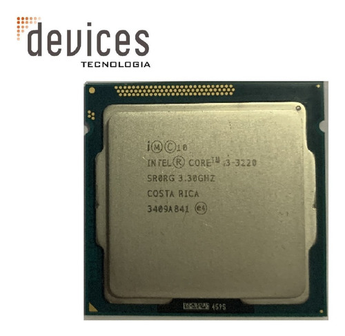 Intel Core I3-3220 Sr0rg 3.30ghz Para Desktop