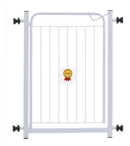 Grade 80cm A 100cm Portão Proteção Bebes Cachorro Pet Segura