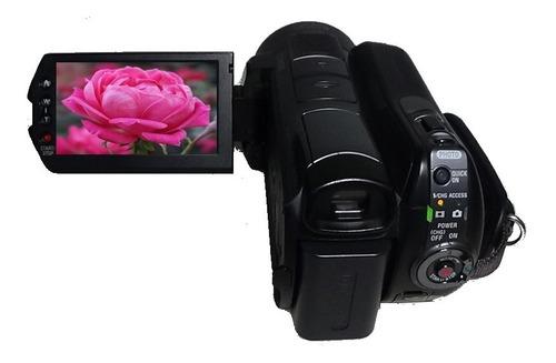 Filmadora Sony Hdr-sr12 Entrada Microfone Hdmi Limpa