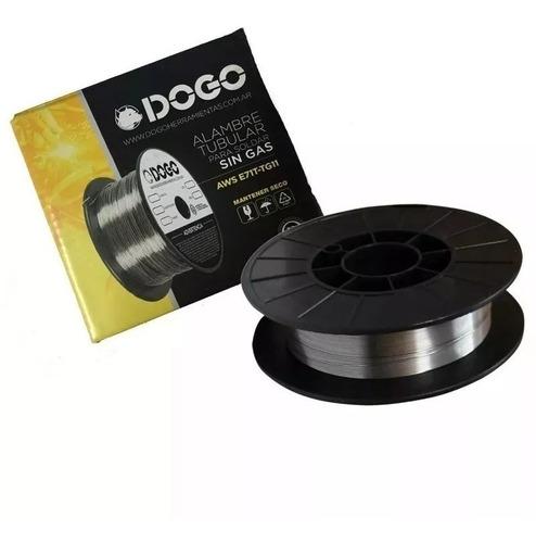 Alambre Soldar Mig Flux Sin Gas Dogo Rollo 0.8 X 0,45 Kg Sm