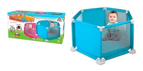 Cercado Para Bebê Azul 950-2 - Braskit