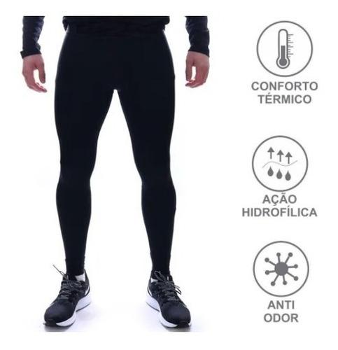 Calça Térmica Segunda Pele Alta Compressão Para Esportes
