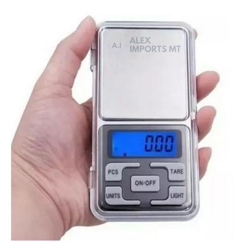 Balança De Precisão Mini 500 Gramas Metal Cuiabá