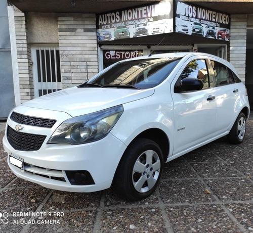 Chevrolet Agile 2012 Ls Spirit Gnc