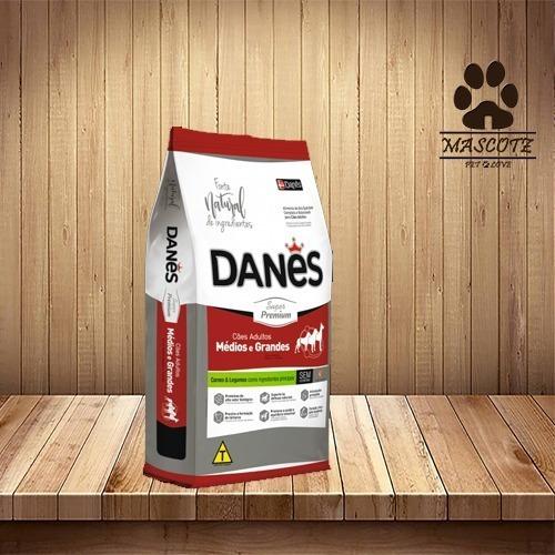 Ração Danês Super Premium Cães Adultos 15 Kq