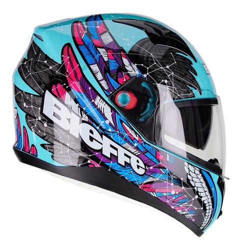 Capacete Bieffe B40 Astro Esportivo Moto Masculino Feminino