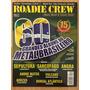 Revista Roadie Crew Nº172 Grandes Álbuns Do Metal Brasileiro