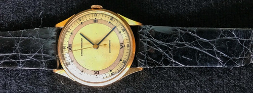 Girard Perregaux Antimagnetic 1960 Oro 18k Cuero Unico