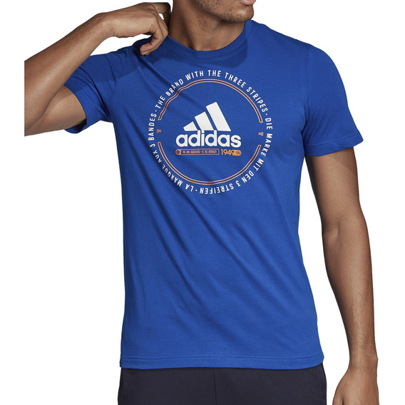 Remera adidas Training Must Haves Emblem Hombre Fr