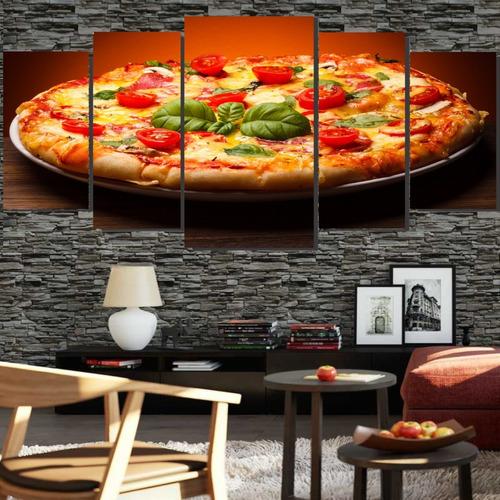 Quadros Decorativo 128x60 Pizza Italiana Lindo N3