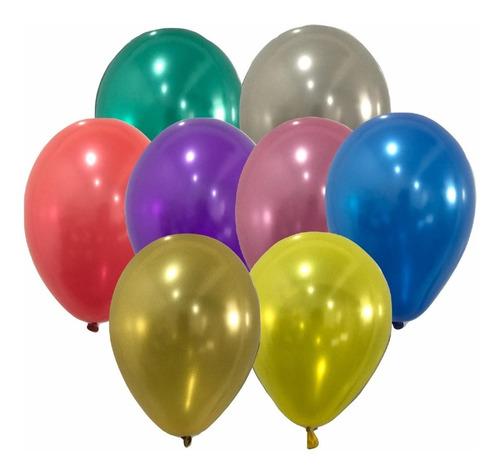 Balões/bexiga São Roque Nº 7 Cintilante C/50un