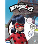 Livro Infantil Ladybug Traços De Super Heróis