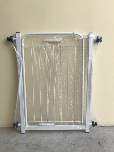 Grade Portão Proteção Pet 69 A 73,5 / 79 A 83,5 Cm Cachorro