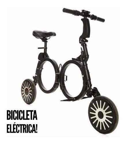 Bicicleta Eléctrica!!!Plegable. Negro | Naranja | Verde