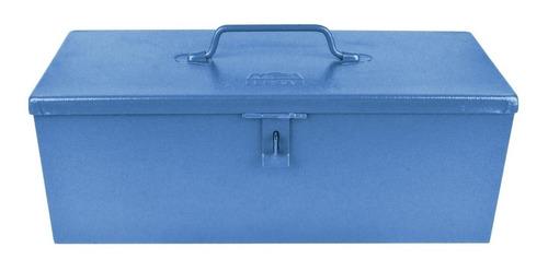 Caixa De Ferramentas Fercar 02 De Metal 16cm X 40cm X 15cm Azul