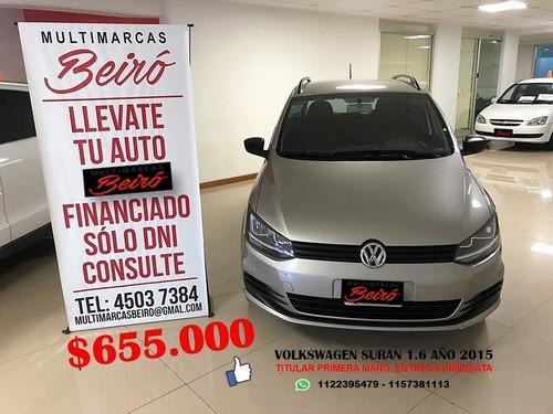 Volkswagen Suran 1.6 Año 2015