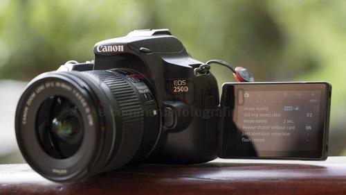 Nova Câmera Canon Sl3 +18-55 Is Stm 4k C/ Nf-e Garant Canon